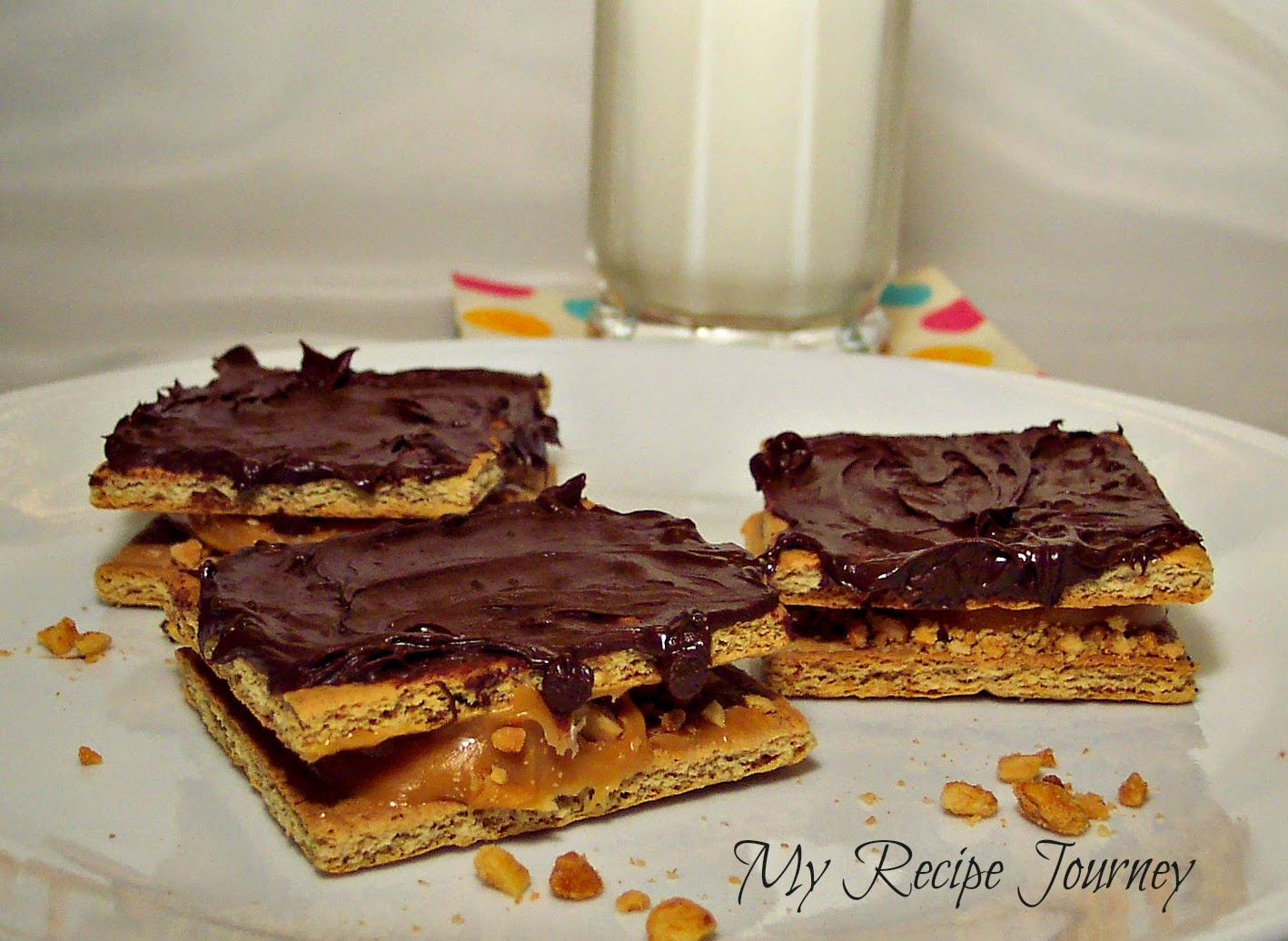 4 Ingredient Snickers Cookies