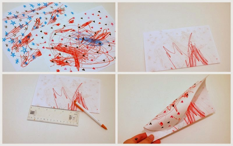 Steps to make simple paper kites
