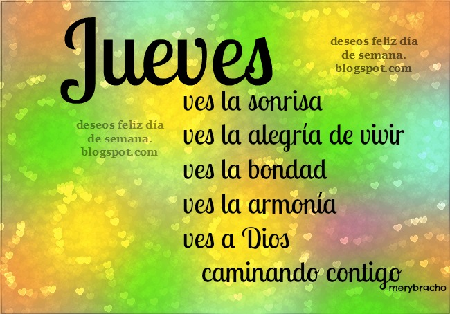 Feliz Jueves de alegría y armonía. Imágenes bonitas del Jueves, que tengas un buen día, feliz día jueves, Postales cristianas, tarjetas con mensajes cristianos para compartir.