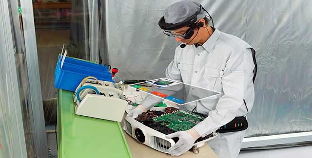 Epson Moverio Pro BT-2000 Smartglass ou óculos inteligentes
