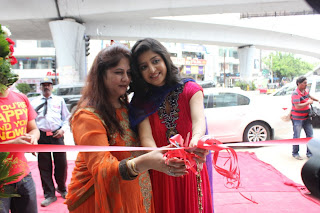Poonam Kaur Pictures in Red Salwar Kameez at F Studio Fashhion Launch  0060.jpg