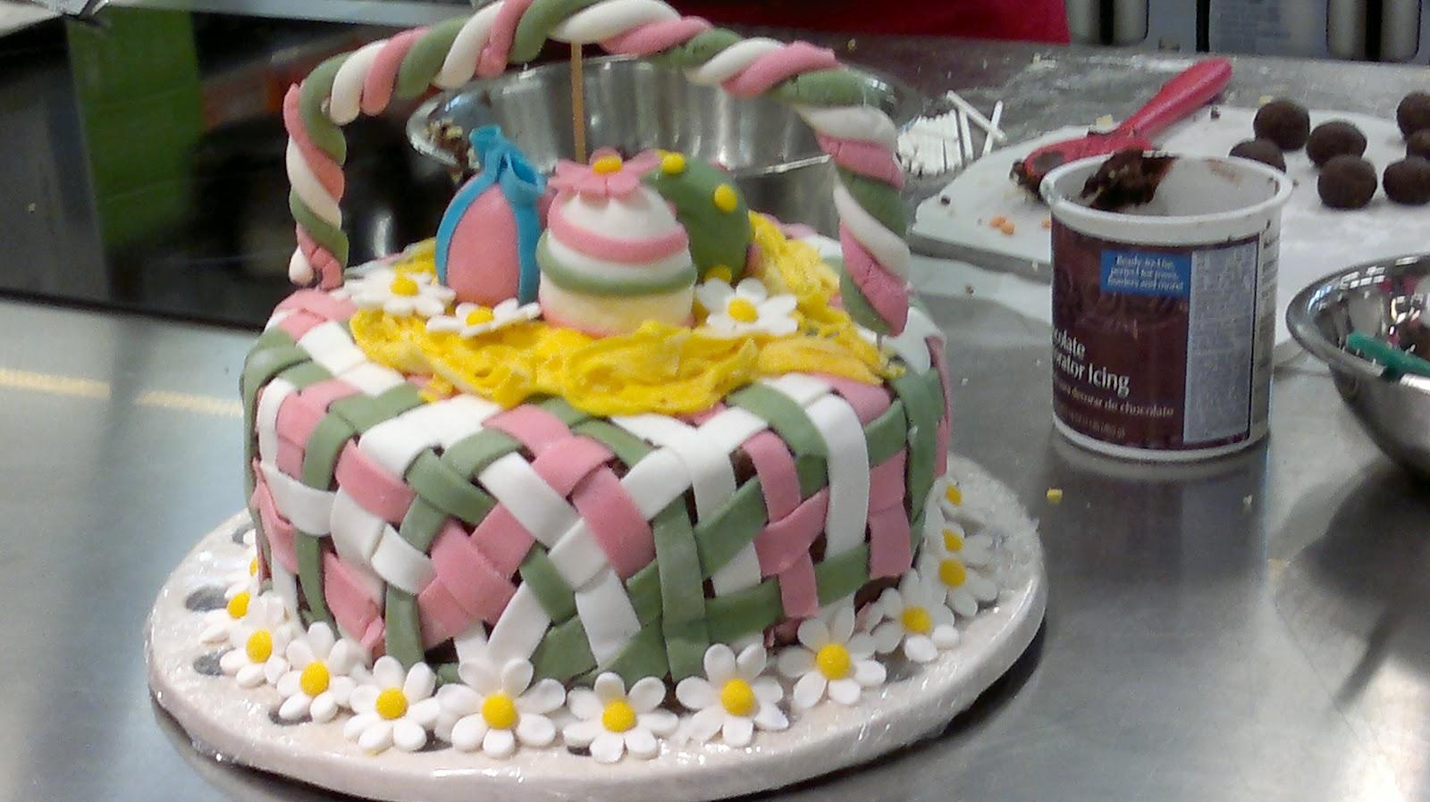 Fabtastic cakes avril 2012 - Gateau pate a sucre paques ...