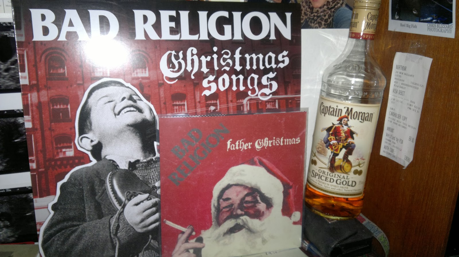 Ont Road Fanzine: Bad Religion – Christmas Songs & Father Christmas