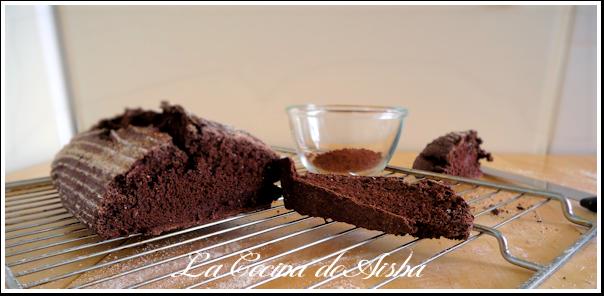 Pan de espelta integral y cacao