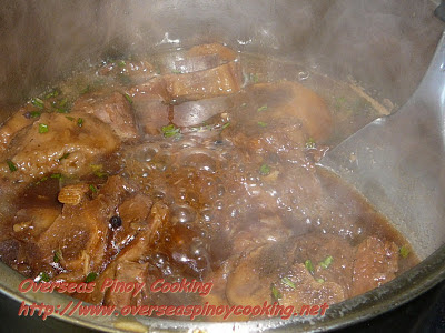 Braised Lamb - Cooking Procedure