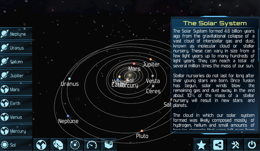 Solar System Explorer HD Pro v2.6.6 Apk