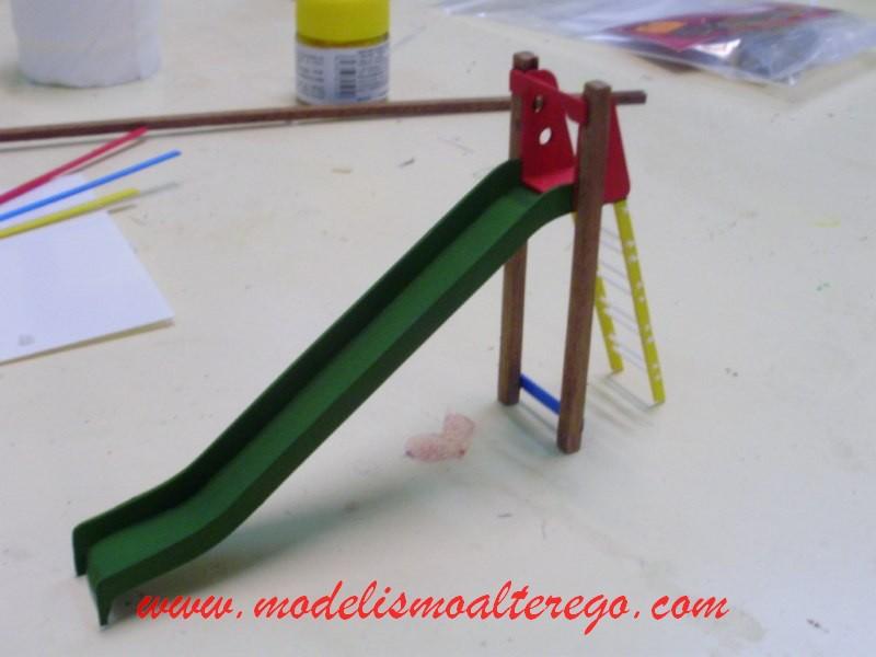 Modelismo alter ego el parque infantil - Como hacer un parque infantil ...