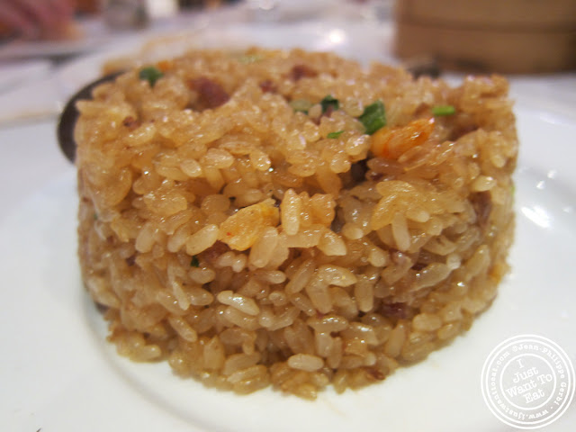 Image of Fried sticky rice at the Golden Unicorn in Chinatown NYC, New York