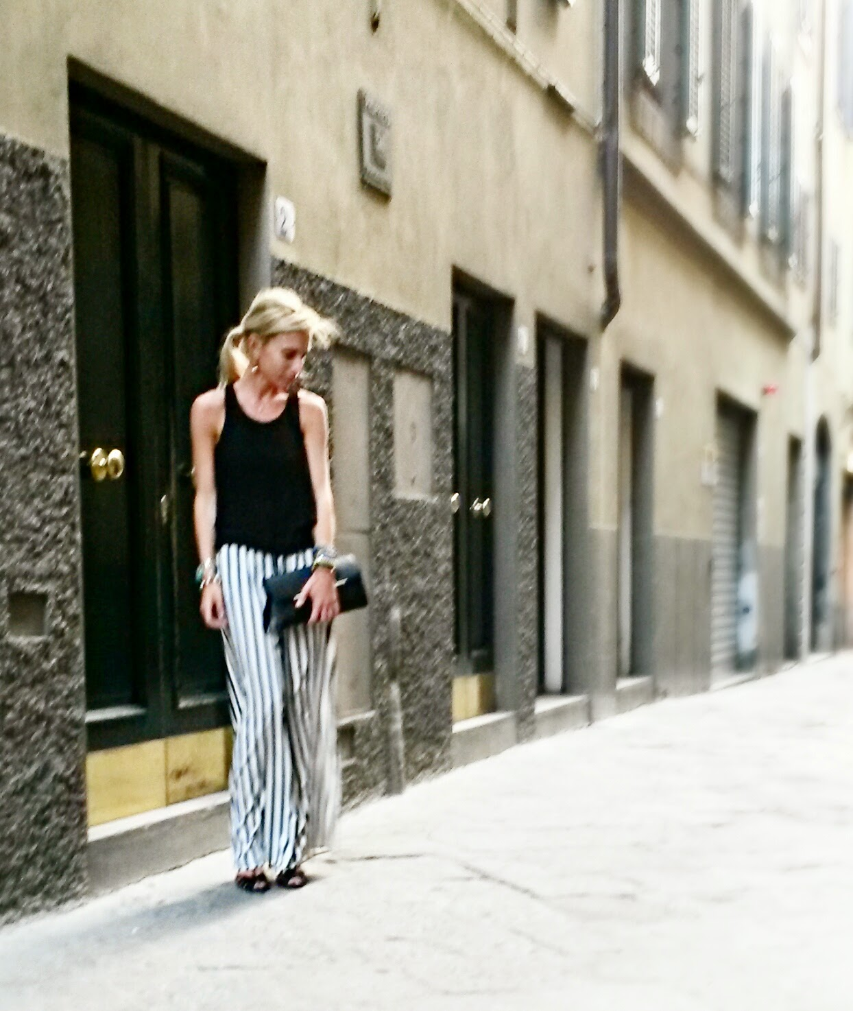 Pitti - Firenze - Black & White outfit