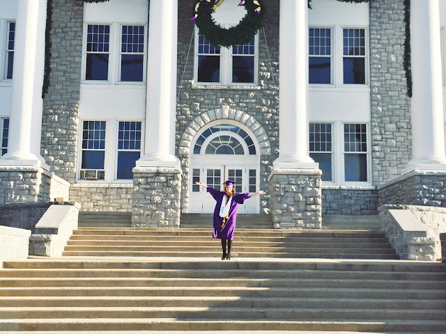 James Madison University graduation, nursing grad