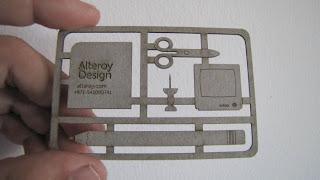 Transformuojama vizitinė kortelė rankdarbiams