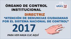 ÓRGANO DE CONTROL INSTITUCIONAL – OCI