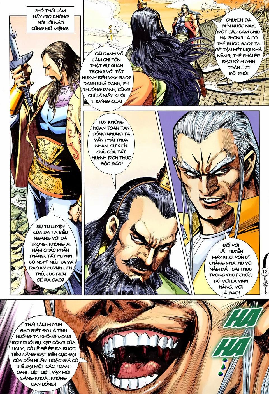 Đại Đường Song Long Truyện chap 250 - Trang 12
