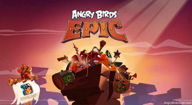 Angry Birds Epic APK + Datos SD (ilimitado)