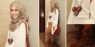 Trend fashion busana muslim artis masa kini