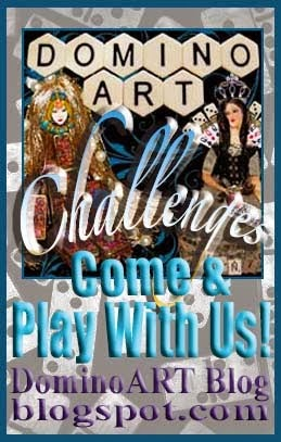 Next DominoART Challenge starts in June! #11 Altered Bingo Cards