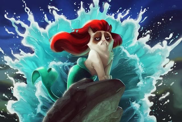 Grumpy cat в Дисней