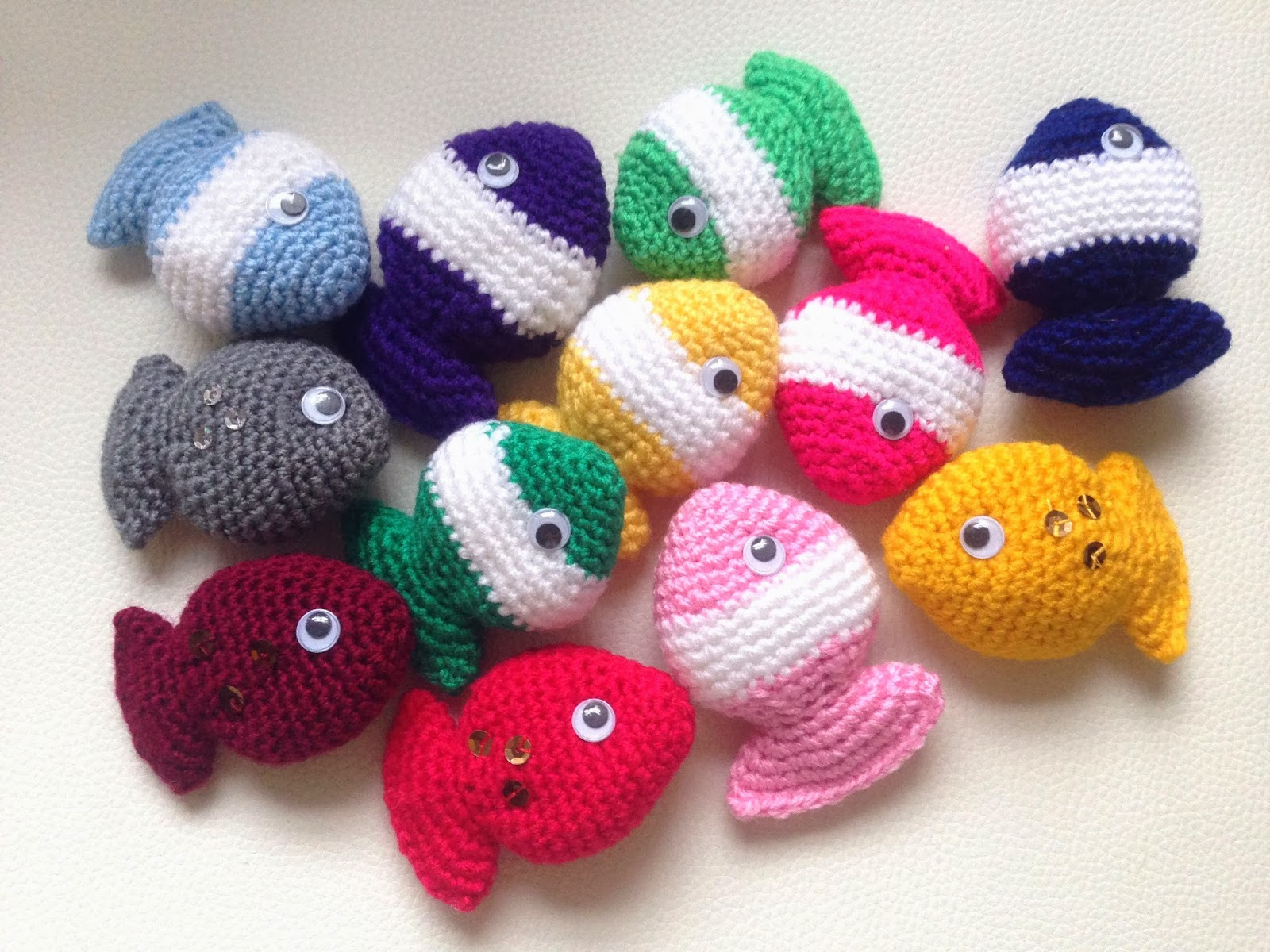 lily razz fish candy free crochet pattern