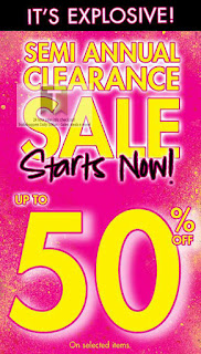 La Senza Semi Annual Clearance Sale 2013
