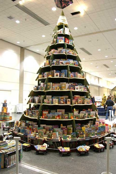 Árbol de Navidad - Estantería