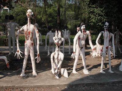 泰國 地獄寺廟