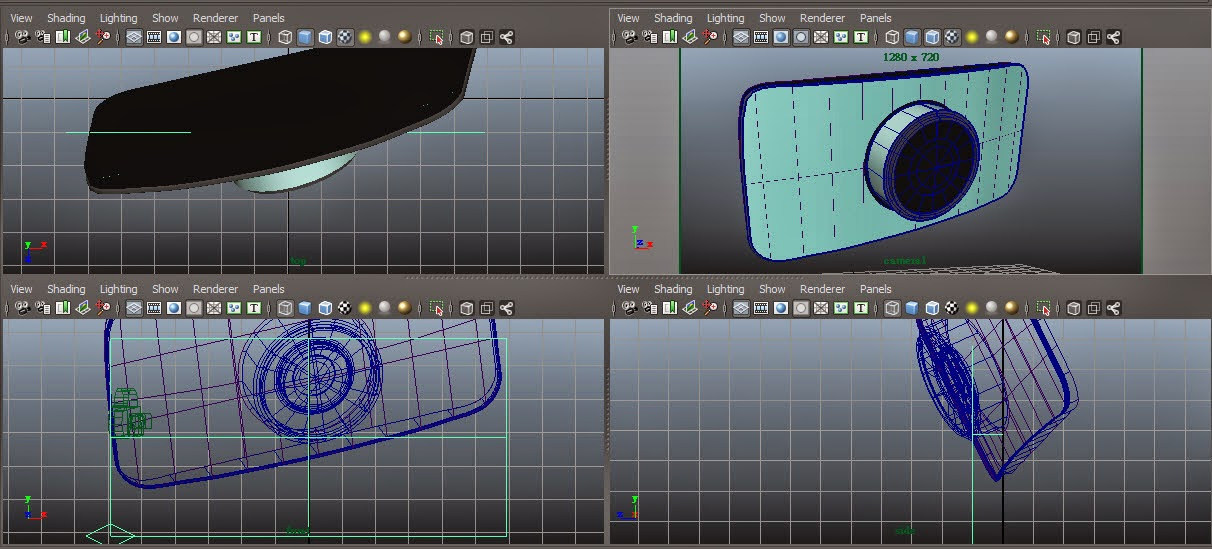 Interface Overview in Maya:Part2 01