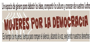 MUJERES POR LA DEMOCRACIA