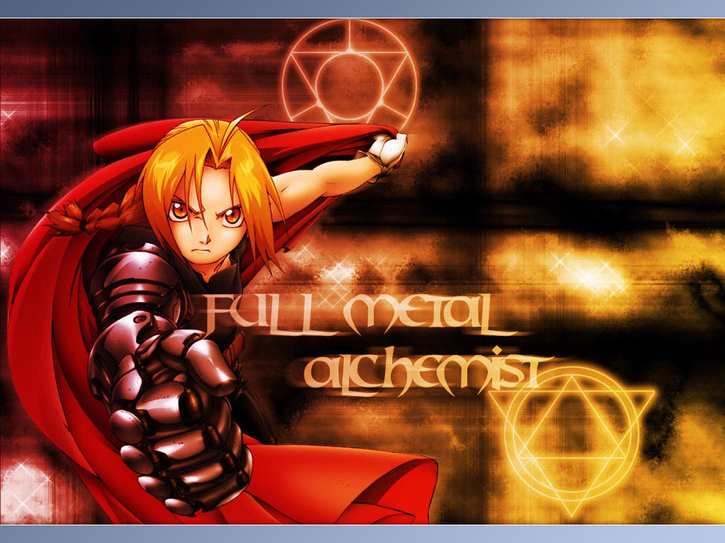 Full Metal Alchemist HD & Widescreen Wallpaper 0.522915775284815