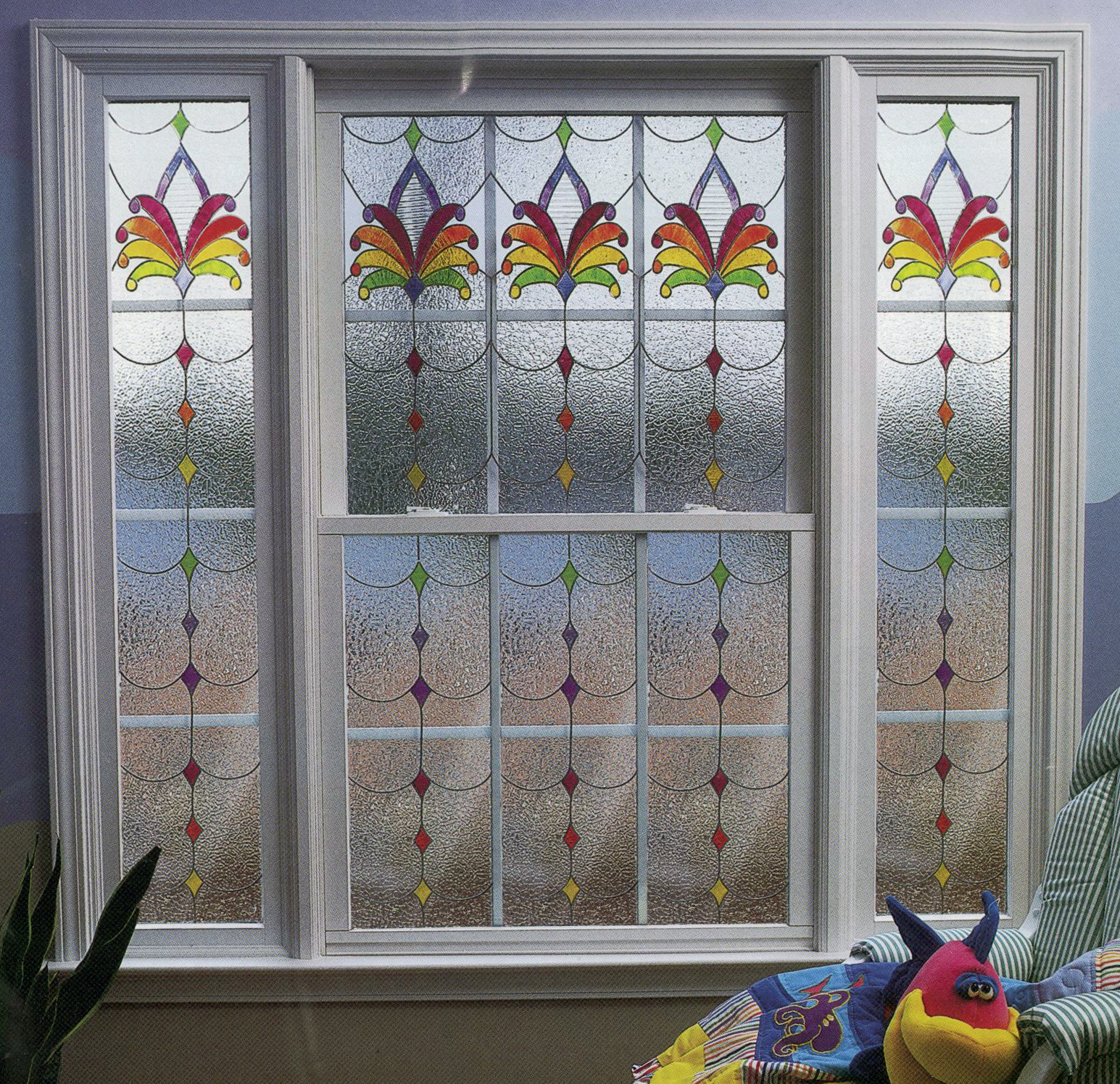 Color Or Clear Gallery Glass Windows