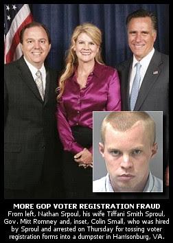 reepublican voters fraud arrest