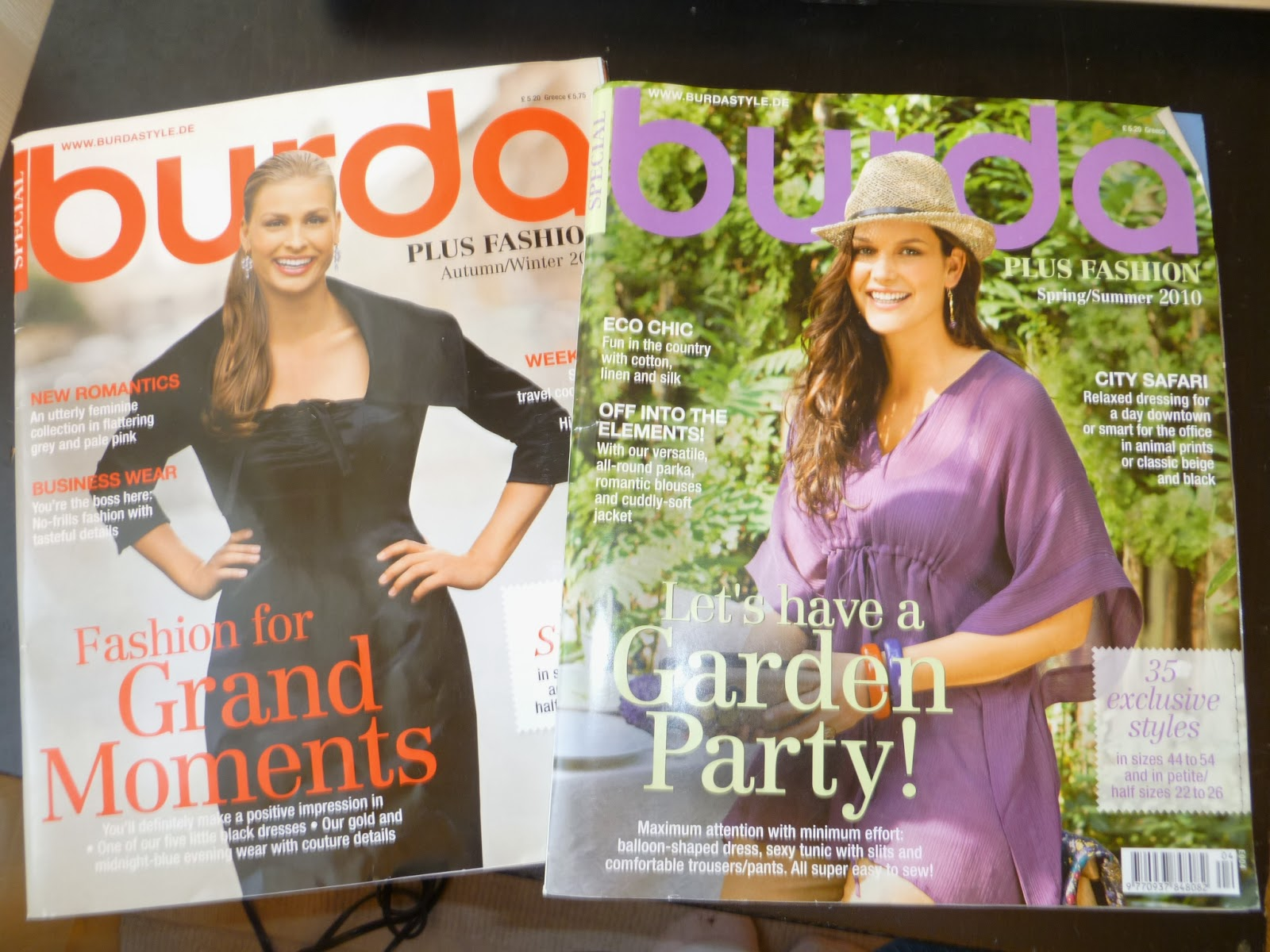 Kathy sews up for grabs plus size burda magazines will trade ive had these two burda plus magazines in my stash for a few years and am looking to trade them for your unwanted sewing pattern magazines jeuxipadfo Image collections