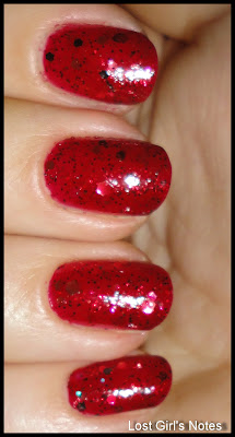 nerd lacquer warrior ethos swatches and review