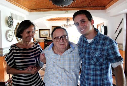 Florinda, Fábio e Roberto Bolaños