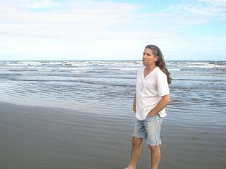 O.Heinze na praia