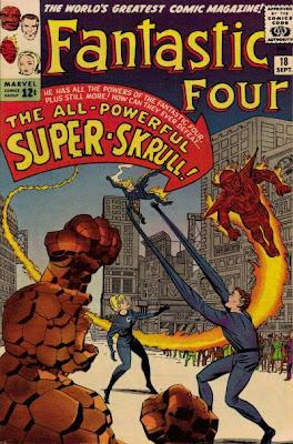 Fantastic Four #18, the Super Skrull