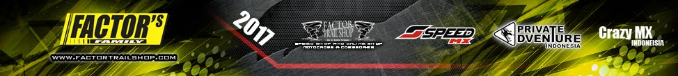Aksesoris motor trail - Factor Trail Shop