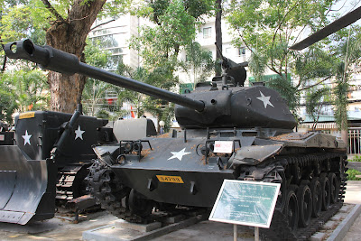 Tanque M.41 de la Guerra de Vietnam