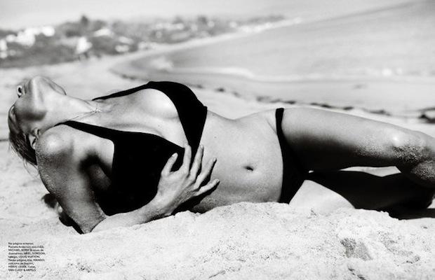Новые черно-белые фотографии Памелы Андерсон