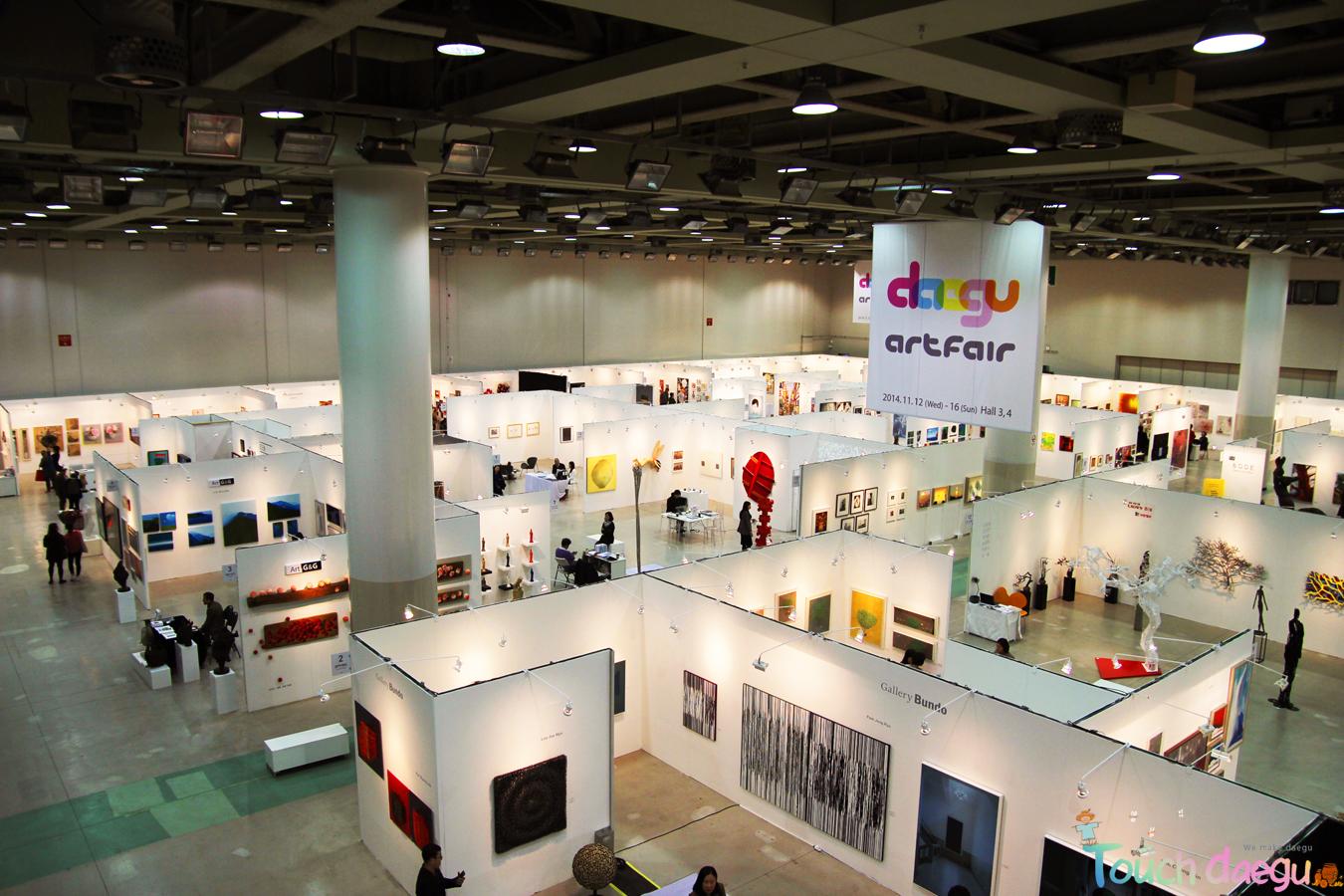 The whole view of Daegu Art Fair & YAP 2014