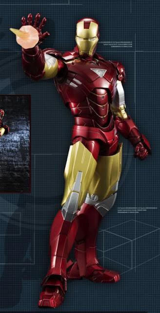 Bandai SH Figuarts Iron Man 2 - Iron Man Mk VI figure