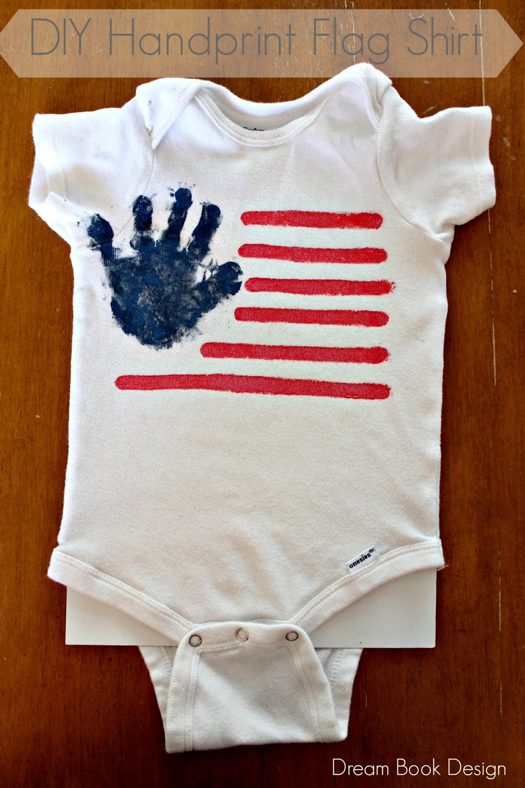 Design t shirt hand made - Diy 4th Of July Flag Shirt