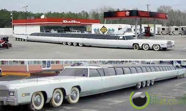Limousine Terpanjang Dunia