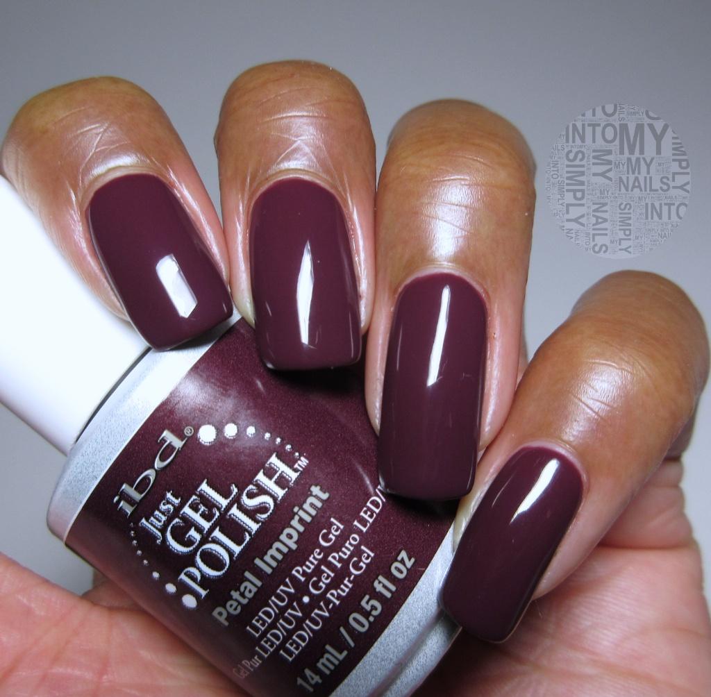 Mini Manicures ~ IBD Just Gel Petal Imprint