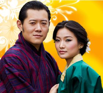 logosociety the bhutan royal wedding symbol