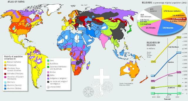 World Religous Map