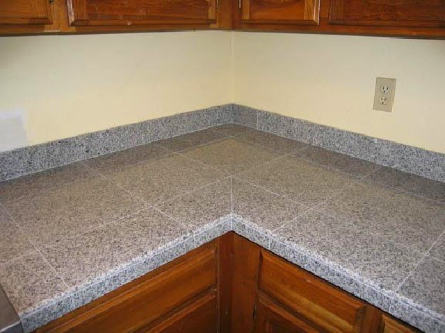 Marble Tile Countertop : wonderful the living room is marble tile countertop design ideas