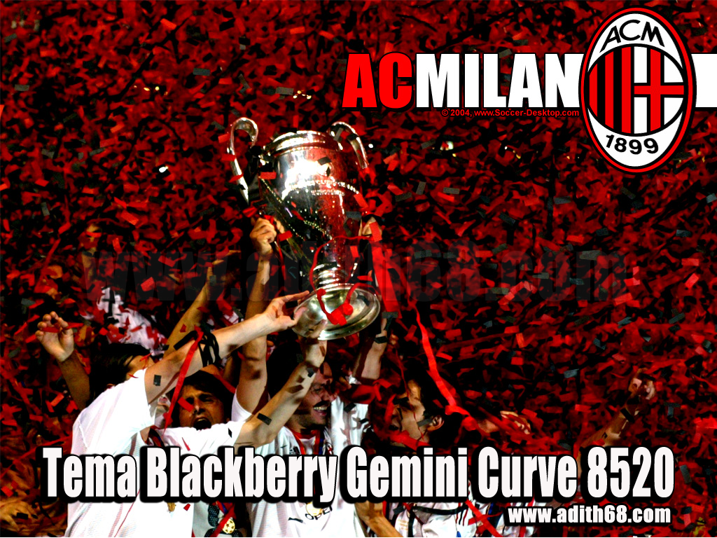 Download Tema Milan Terbaru Blackberry Gemini Curve