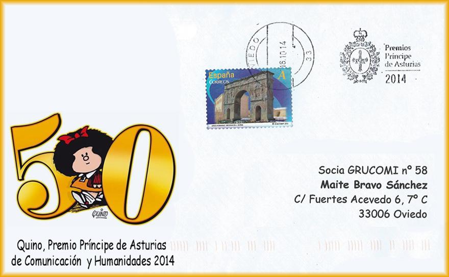 Rodillo de los Premios Príncipe de Asturias 2014