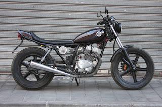 "Street Tracker Honda CB 250 ""Cheap Tracker"""