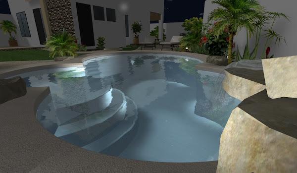 Los principos del estilo japones de jardines que incluye for Diseno de jardines pequenos con piscina